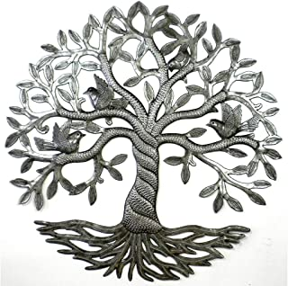 Croix des Bouquets Twisted Tree of Life Metal Wall Art