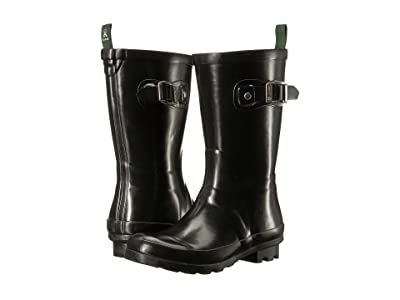 Kamik Kids Rainsplash (Little Kid/Big Kid) (Black) Girls Shoes