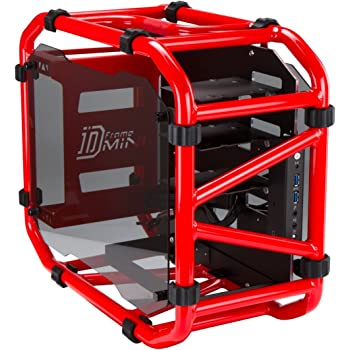 In Win Motorcycle Steel Tube Mini- ITX Computer Case D Frame Mini Red