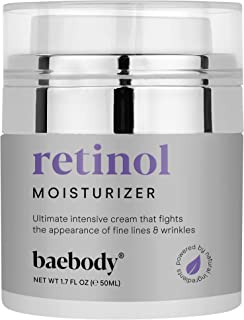Sponsored Ad - Baebody Retinol Moisturizer Cream for Face, Neck and Décolletage with Wrinkle and Acne Fighting Retinol, Jo...
