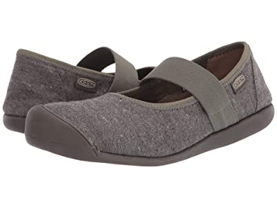 KEEN Sienna MJ Canvas (Dusty Olive/Mulch) Women