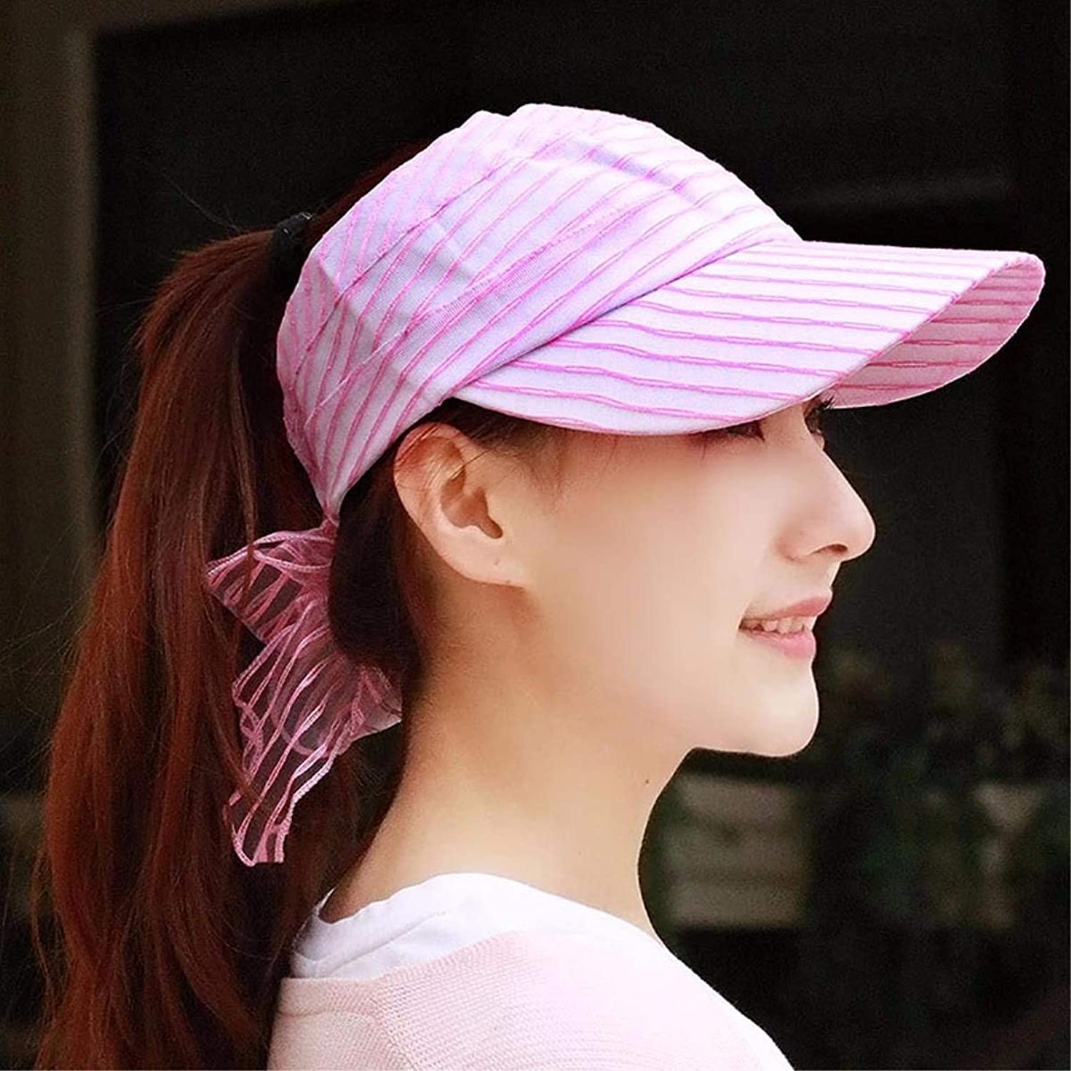 Chuiqingnet Hat the girl breathable snow spinning empty top hat cap visor sun hat riding hat cool Alpine hat cap new