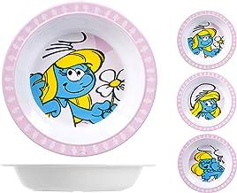 Home Smurfette Plate Melamine Multi Colour