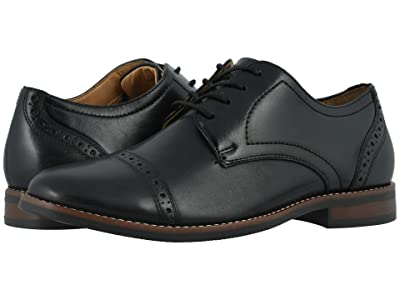 Nunn Bush Fifth Ward Flex Cap Toe Oxford (Black) Men
