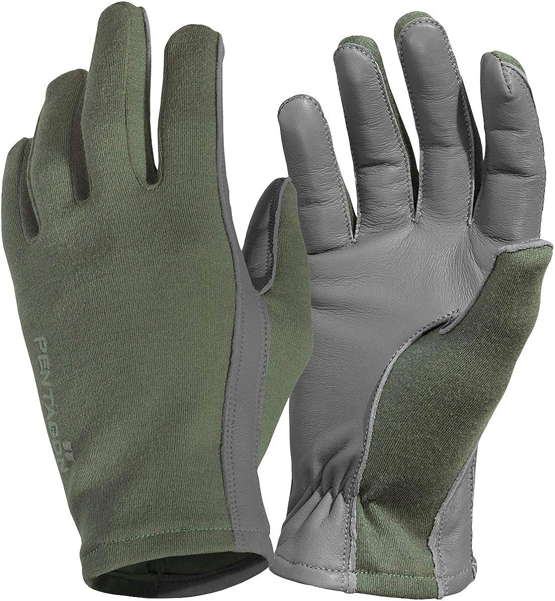 Pentagon Men's Super popular specialty New mail order store Short Cuff Olive Gloves Pilot