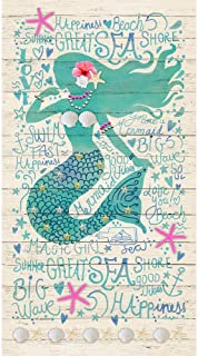 Timeless Treasures Mermaid Sand Mermaid Panel