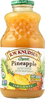 Knudsen Organic Pineapple Juice, 32 Ounce - 12 per case.