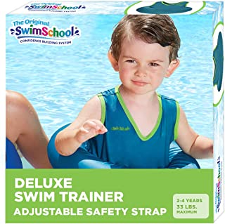 SwimSchool Original Deluxe TOT Swim Trainer for Kids, 4-in-1 Multi-Purpose Pool Float,..