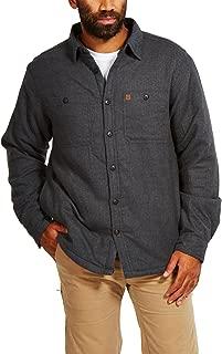 Coleman Flannel Sherpa Shirt Jacket