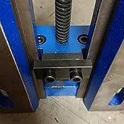 Backenbreite 150 R/öhm 1132597 Bohrmaschinen-Schraubstock DPV Gr/ö/ße 4 mit Prismen- und Normalbacke SBO