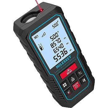 Laser Distance Meter Measure 100M Outil De Mesure Num/érique De La Poign/ée 2 Niveau /À Bulle Localisateur De Zone Outils Et Volume Outils De Mesure Outil De Mesure Num/érique 328ft