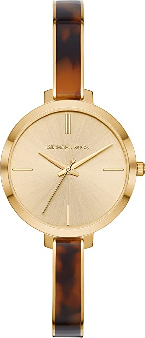 Michael Kors Women's Quartz Watch analog Display and Stainless Steel Strap, MK4341