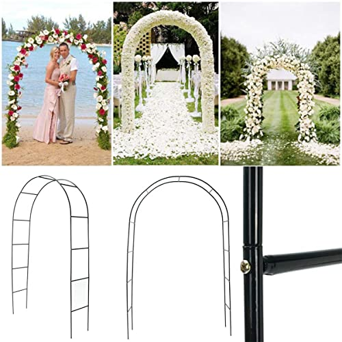 ChaRLes 95  Iron Arch Way Assemble Door mariage Party Bridal Prom Garden Décorations Florales