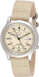 Seiko Wrist Watch Mens Quartz Dress Watch, Analog and Nylon - SNK803K2