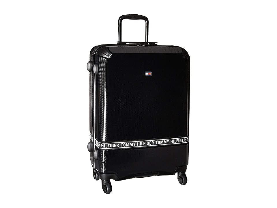 Tommy Hilfiger Courtside 24 Upright Suitcase (Black) Pullman Luggage
