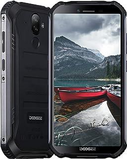 Móviles, DOOGEE S40 Pro Móvil Resistente, 4GB + 64GB(SD 256GB) Android 10 Smartphone 4G de 5.45