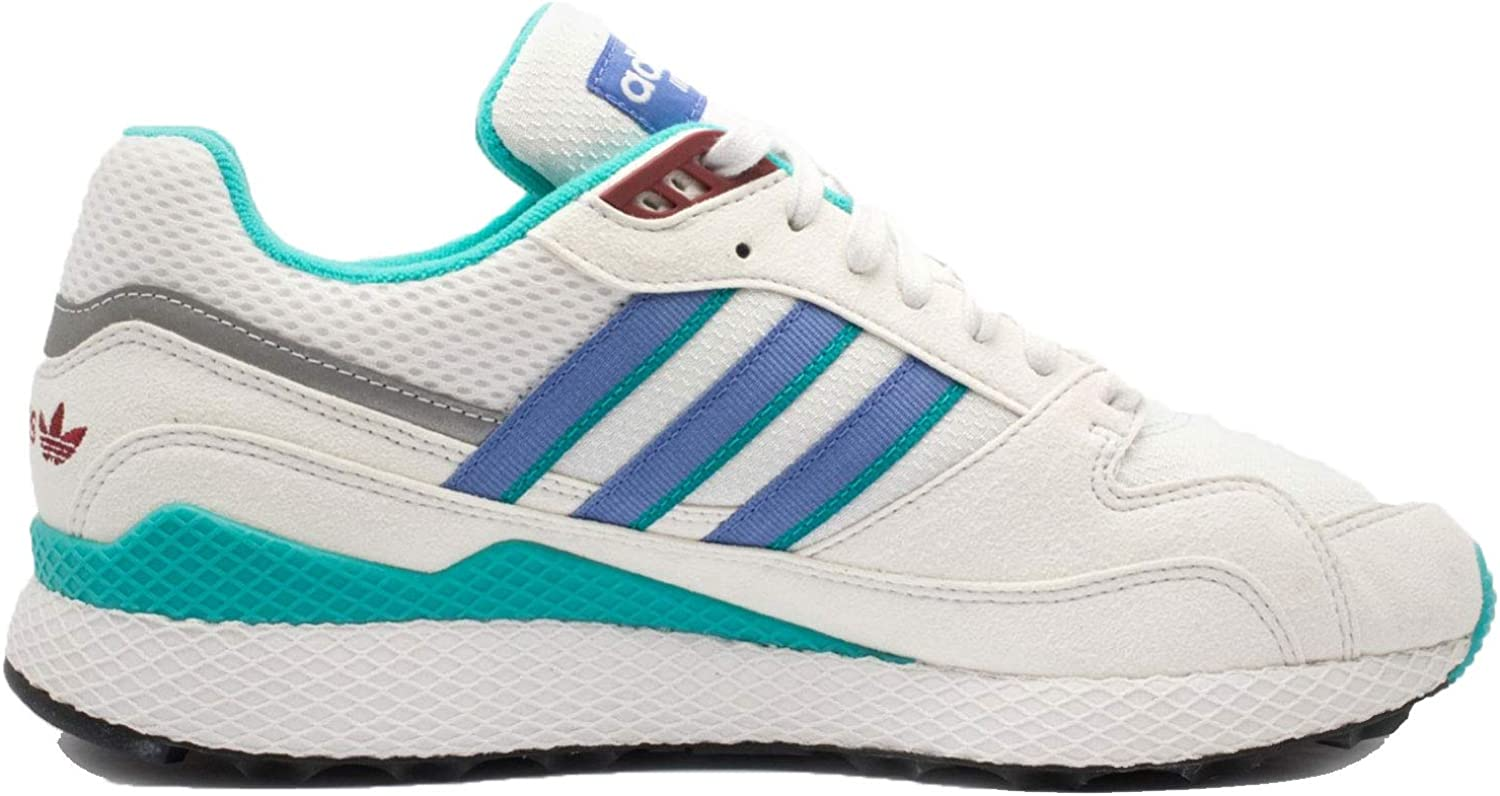 Adidas Mens Ultra Tech Crystal White purplec Synthetic