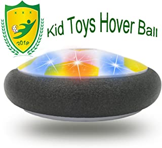 JRD&BS WINL Interesting Hover Football for Kids, Best Toys for Boys Gifts 10 Years Old Gifts for Girl 8 Year Old to Outdoor Play with Friend(Style2Yellow)