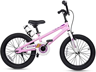 Best RoyalBaby Kids Bike Boys Girls Freestyle Bicycle 12 14 16 inch with Training Wheels,16 18 20 inch with Kickstand Child