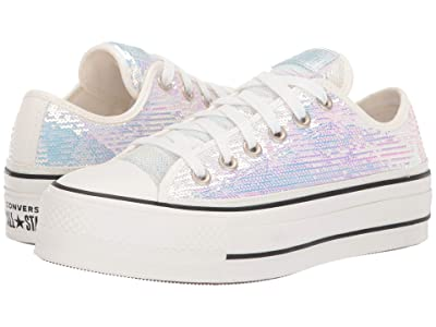 Converse Chuck Taylor All Star Lift Ox Northern Lights (Silver/Vintage/White/Black) Women