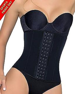 comprar comparacion LaLaAreal Fajas Reductoras Corset Cincher Bustiers Corsé Adelgazantes de Cinturón Formación para Body Shaper Mujer