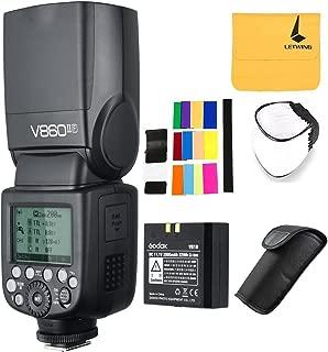 GODOX V860II-F 2.4G TTL Li-on Battery Camera Flash Speedlite Compatible for Fujifilm Camera X-Pro2 X-T20 X-T1 X-T2 X-Pro1 X100F