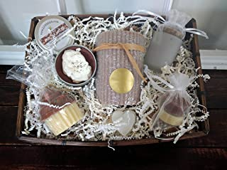 Coffee and Chocolate Lovers Candle Gift Basket