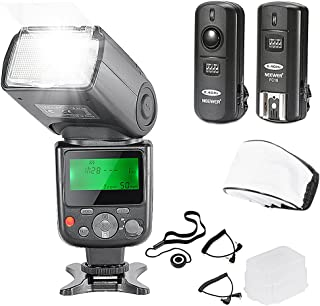 Neewer NW-670 TTL Flash Speedlite with LCD Display Kit for Canon DSLR Cameras,Includes:(1) NW-670 Flash,(1) 2.4 GHz Wirele...