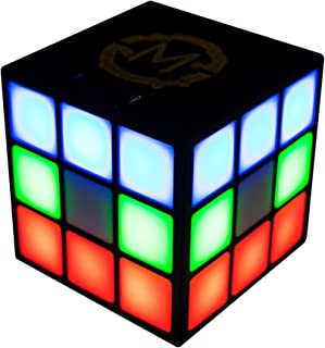 MOBI 70223 Cube 2 Portable Bluetooth Speaker with 4 Sided LED Light Show (Black) (Discontinued by the Manufacturer)