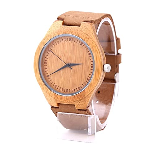 Mens Wood Wrist Watch,Mercimall Natural Wooden Watches,Handmade Anniversary Gifts for Groomsmen