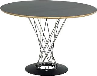 イサムノグチ サイクロンテーブル 直径105cm Isamu Noguchi ブラック(黒) オリジナルと同じPLYWOOD成型合板使用 デザイナーズ テーブル 円形 おしゃれ 丸テーブル