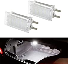 iJDMTOY (2) Xenon White 18-SMD LED Trunk/Engine Bay Lights For Porsche 911 Carrera Cayman Boxster, Great as OEM Replacement