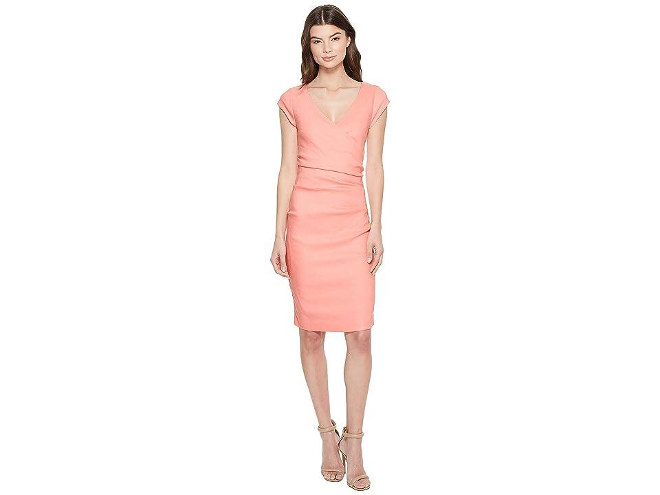 Nicole Miller Linen Beckett Dress (Petal Pink) Women
