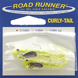 Blakemore Lure Co Road Runner Curly Tail 1/16oz Chartreuse