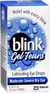 blink Gel Tears Lubricating Eye Drops 10 mL (Pack of 2)