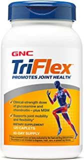 GNC Triflex with Hyaluronic Acid, Caplets, 120ct