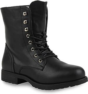 Stiefelparadies - Botas Militar Mujer