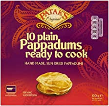 Patak s Plain Ready to Cook Pappadums 10 per pack – 100g Estimated Price : £ 6,65