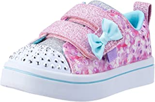 Skechers TWI-Lites - Confetti Pops Girls Sneakers, Pink/Multi