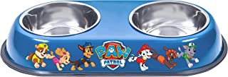 Officially Licensed Paw Patrol Food and Water Double Bowl for Cats and Dogs by Penn Plax, Featuring Your Favorite Characte...