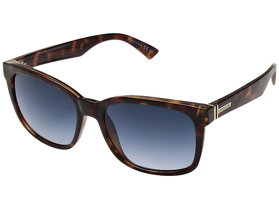 Retro Sunglasses | Vintage Glasses | New Vintage Eyeglasses VonZipper Howl Havana TortoiseNavy Gradient Fashion Sunglasses $100.00 AT vintagedancer.com