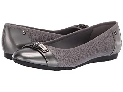 Anne Klein Sport Able Wide (Pewter) Women