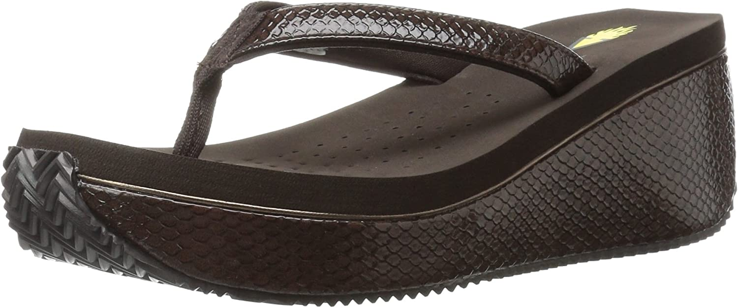 Volatile Womens Digs Wedge Sandal