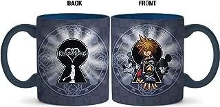 Silver Buffalo KH120534 Disney Kingdom Hearts Sora Keyhole Ceramic Mug, 20-Ounce, Gray