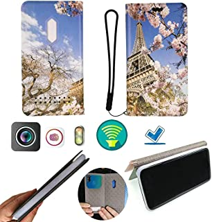 FY Flip Case For Tecno Spark 4 Lite Cover Flip PU Leather + Silicone Ring case Fixed LTTT
