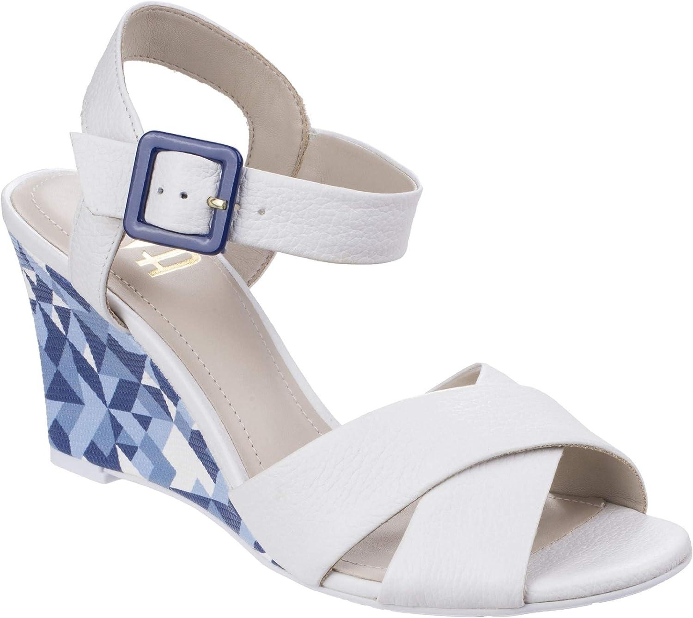 Riva Womens Ladies Emilia High Wedge Leather Sandals