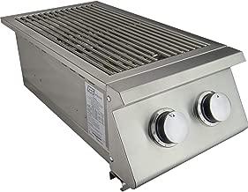 brinkmann two burner stainless steel propane stove