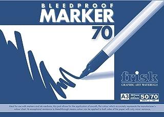 Frisk Bleedproof Marker 70gsm A3 50s (Pad)