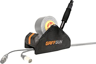 GaffTech G20NN0 GaffGun Tape Applicator Complete Bundle with Long Extension Handle, Small/Medium/Large Cable Guides, and Floor Guide