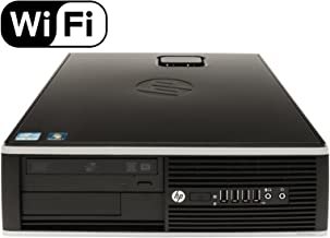 HP 8200 Elite, Intel Quad Core i5 3.10 GHz Processor, 16GB DDR3, 1TB HDD, Windows 10 Professional 64-Bit, WiFi Adapter Included (Renewed) (16GB RAM 1TB HDD WiFi)